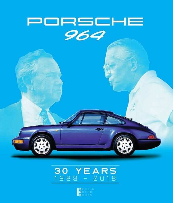 "Cover des Buches LIMITED EDITION 964 ""Porsche 964 – 30 YEARS 1988 – 2018"""
