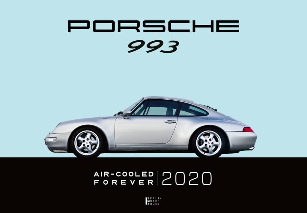 Cover of the Porsche 993 calendar for 2020