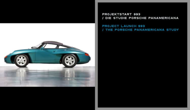 """1. Insight into the book LIMITED EDITION """"Porsche 993 - 25 YEARS 1994 - 2019"""""""