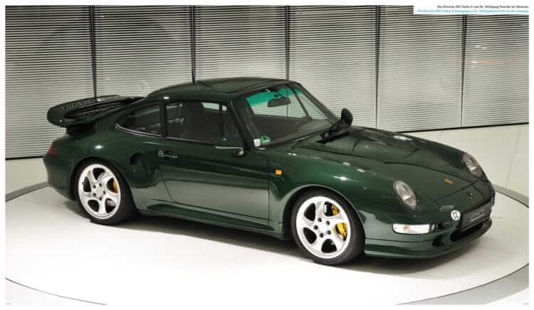 "3. Einblick in das Buch LIMITED EDITION ""Porsche 993 – 25 YEARS 1994 – 2019"""
