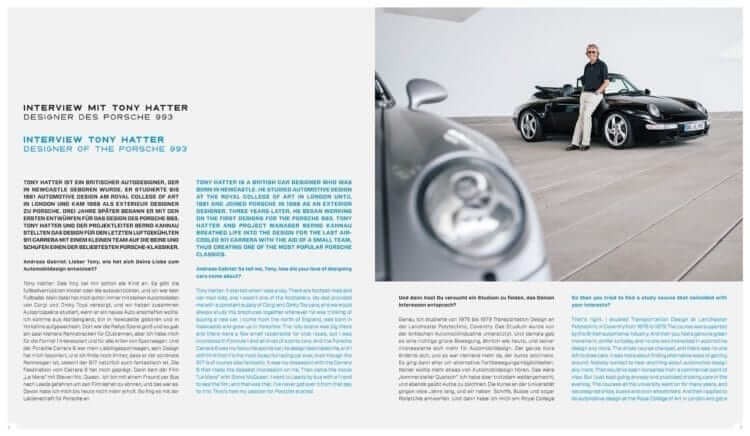 """Insight into the book LIMITED EDITION """"Porsche 993 - 25 YEARS 1994 - 2019"""": Interview with Tony Hatter"""