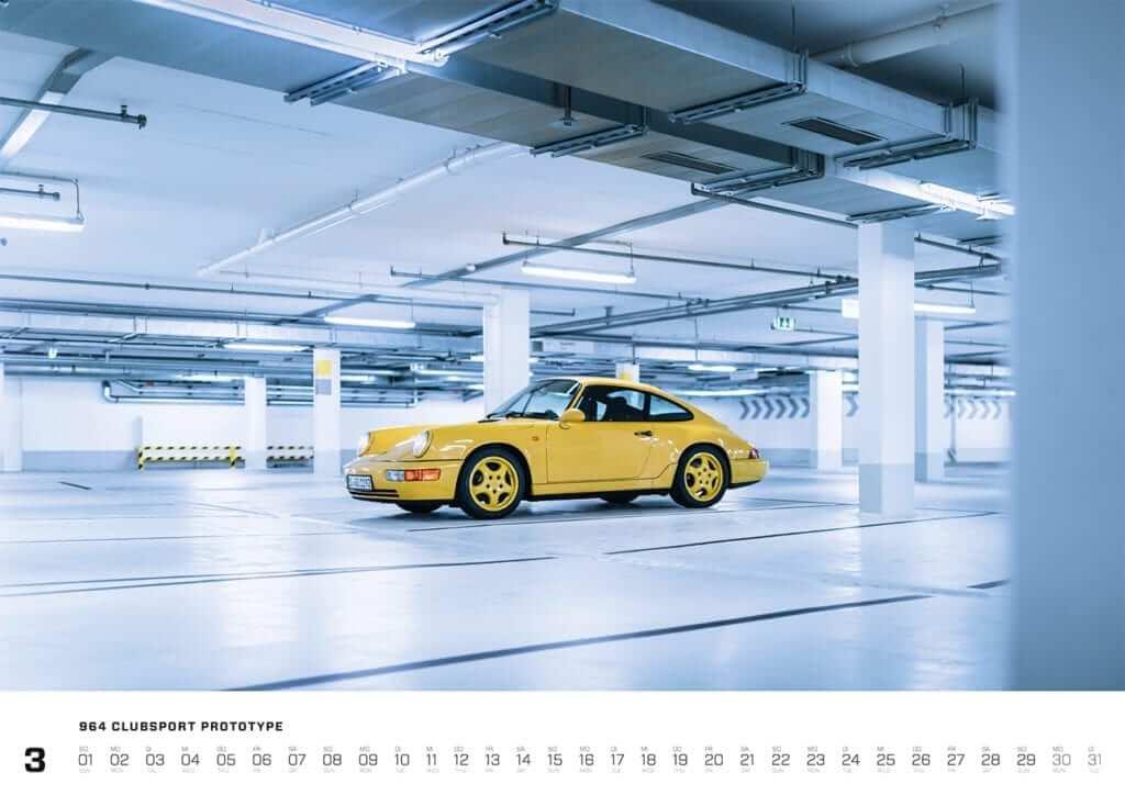 Einblick in den Porsche Kalender 2020