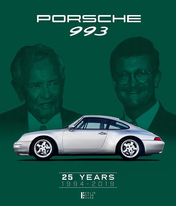 "Cover des Buches LIMITED EDITION ""Porsche 993 – 25 YEARS 1994 – 2019"""
