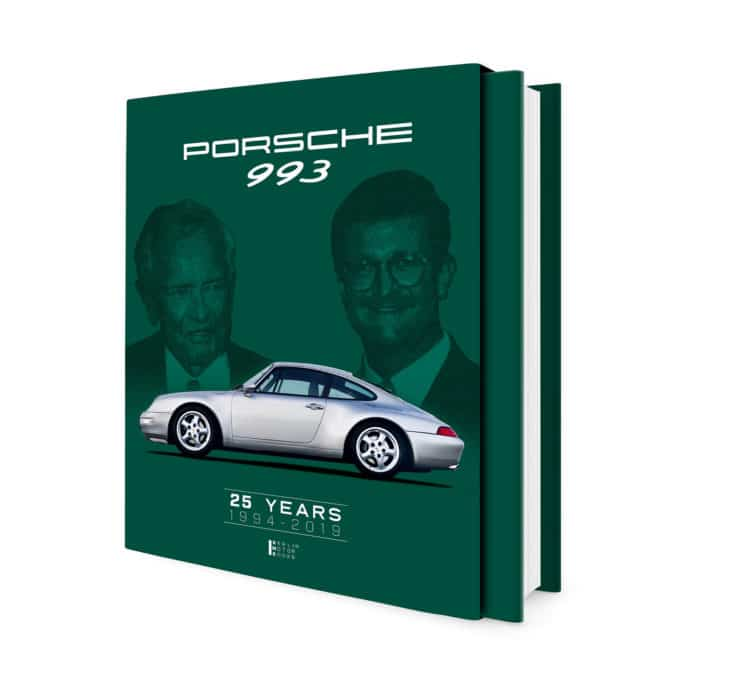 "Slipcase of the book LIMITED EDITION ""Porsche 993 – 25 YEARS 1994 – 2019"""