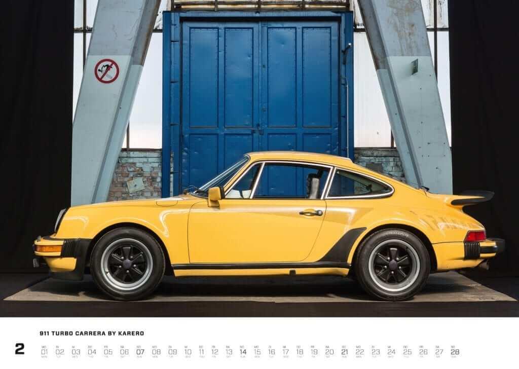 "Porsche Kalender 2021: Porsche 911 Kalender ""Air-Cooled Forever 2021"" Seite 2"