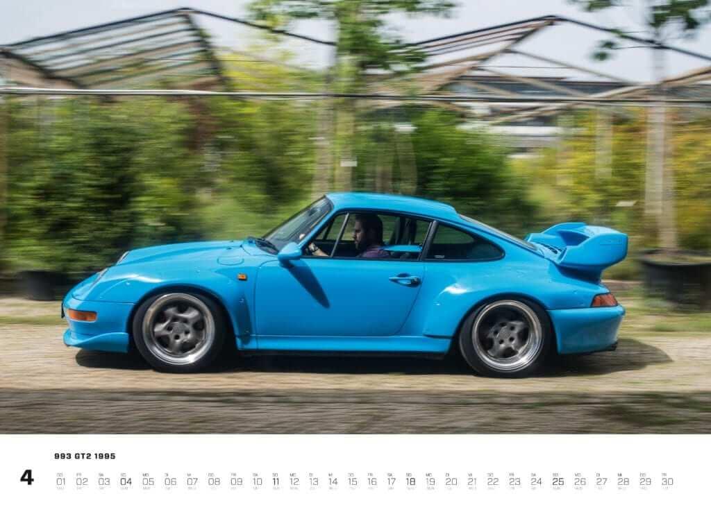 "Porsche Kalender 2021: Porsche 911 Kalender ""Air-Cooled Forever 2021"" Seite 4"