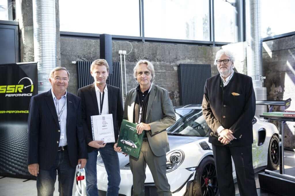 """Motorworld Buchpreis 2020 Verleihung Porsche 993 """"25 Years"""""""