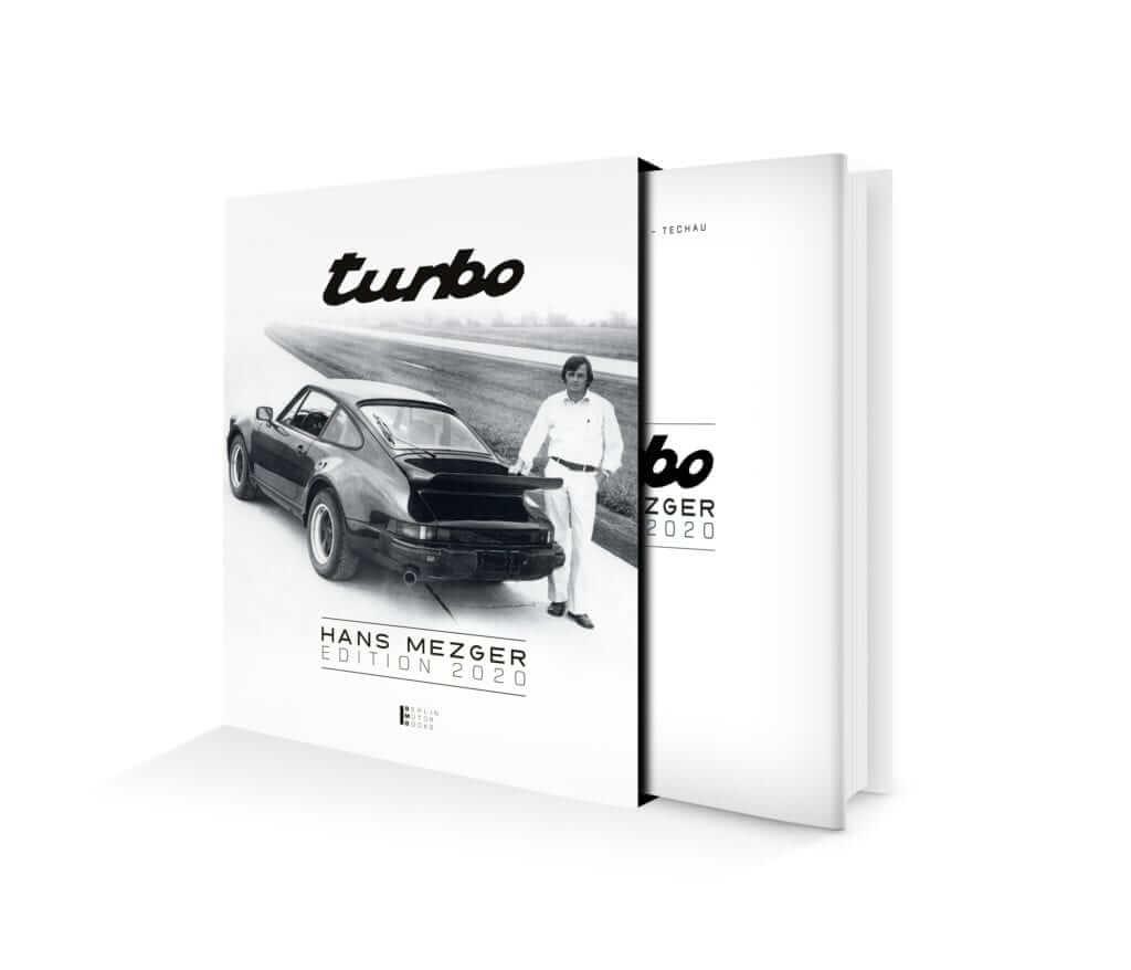 Porsche 911 Turbo Buch in der Hans Mezger Edition