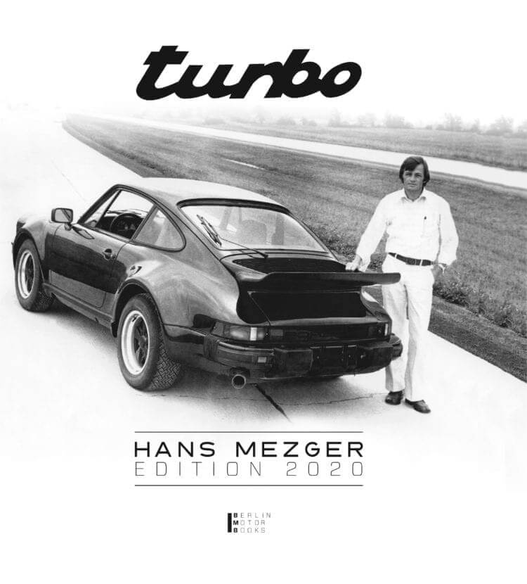 Porsche Turbo Hans Mezger Edition Cover