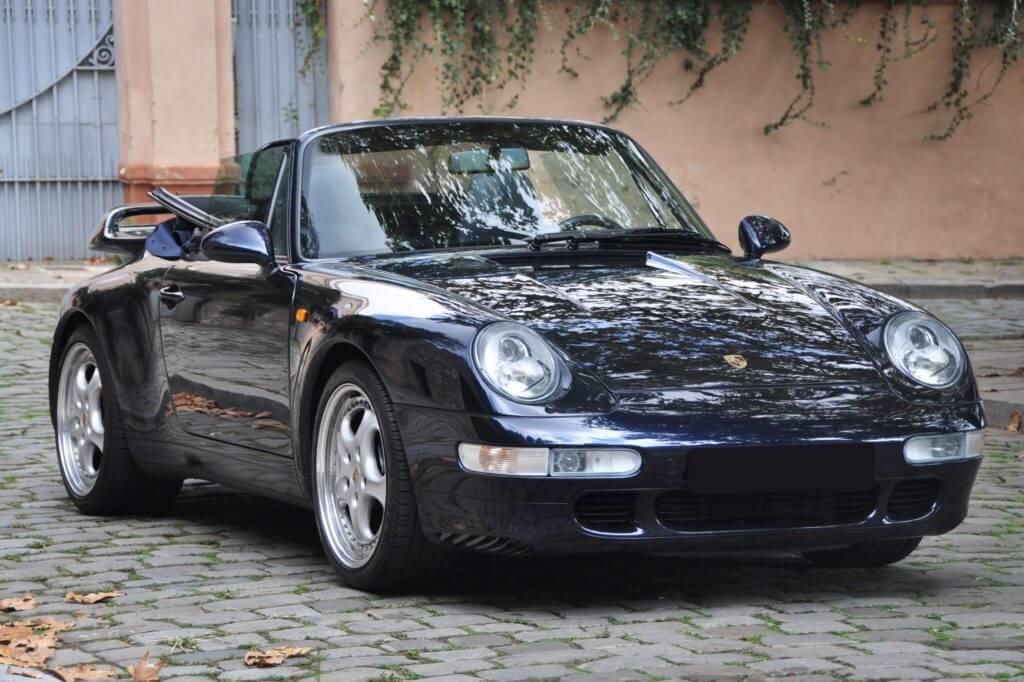 Special model Porsche 993 Turbo Cabriolet