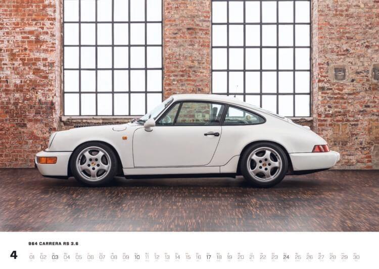 """Porsche Kalender 2022: Porsche 964 Kalender """"Air-Cooled Forever 2022"""""""
